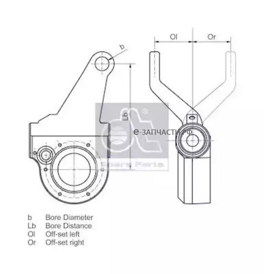 Трещетка задняя правая Scania P/G/R/T Series (автомат) D=38, 10шлиц