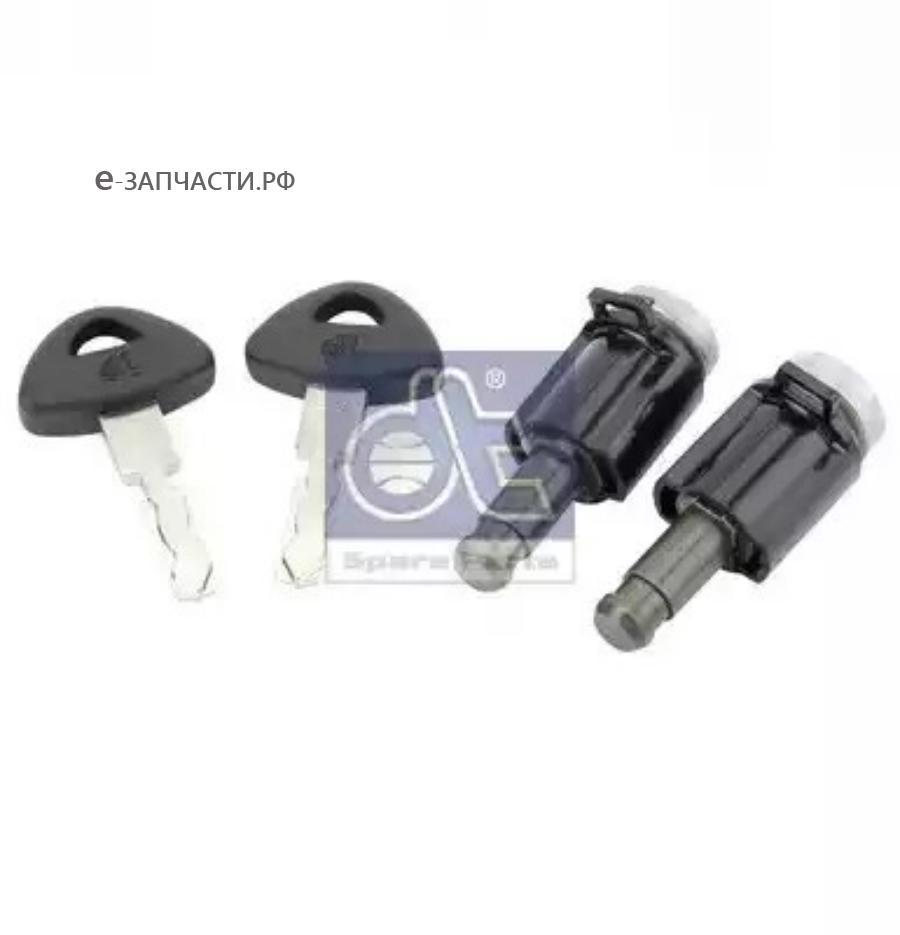 Личинки замков двери с ключами (комплект 2шт) SC4/R (581025)