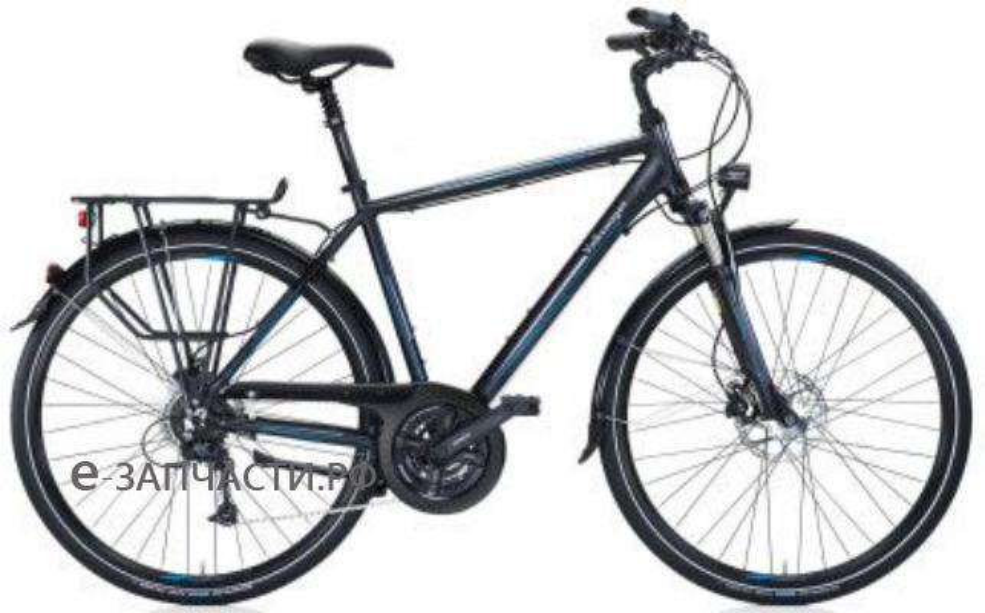 Мужской туристический велосипед Volkswagen Men's Trekkingbike Black