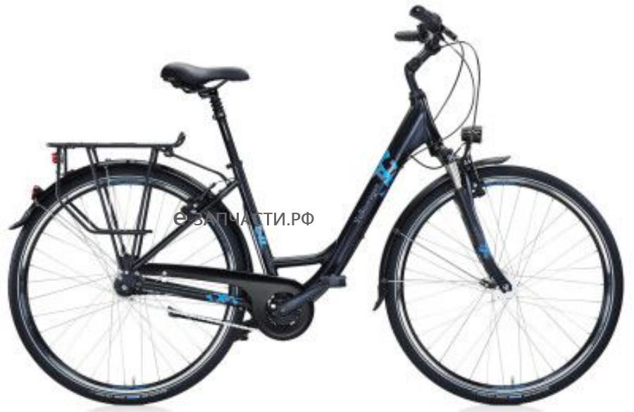 Городской велосипед Volkswagen City-Bike Black