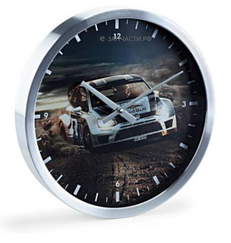 Настенные часы Volkswagen Wandklok Polo R WRC Motorsport