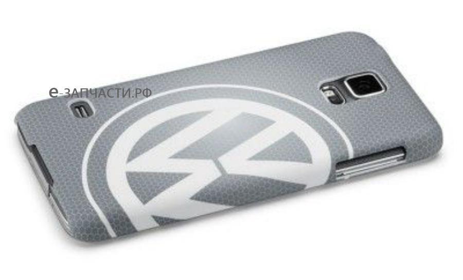 Чехол Volkswagen Logo Samsung Galaxy S5 Cover Grey
