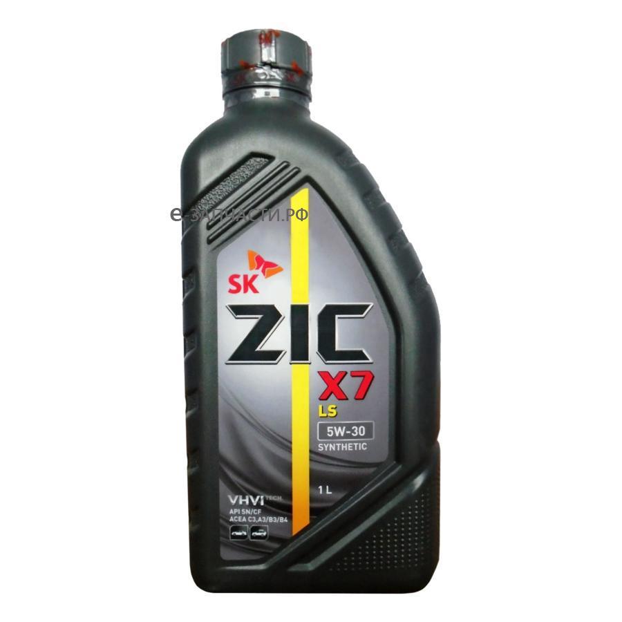 Масло моторное синтетическое X7 LS 5W-30, 1л