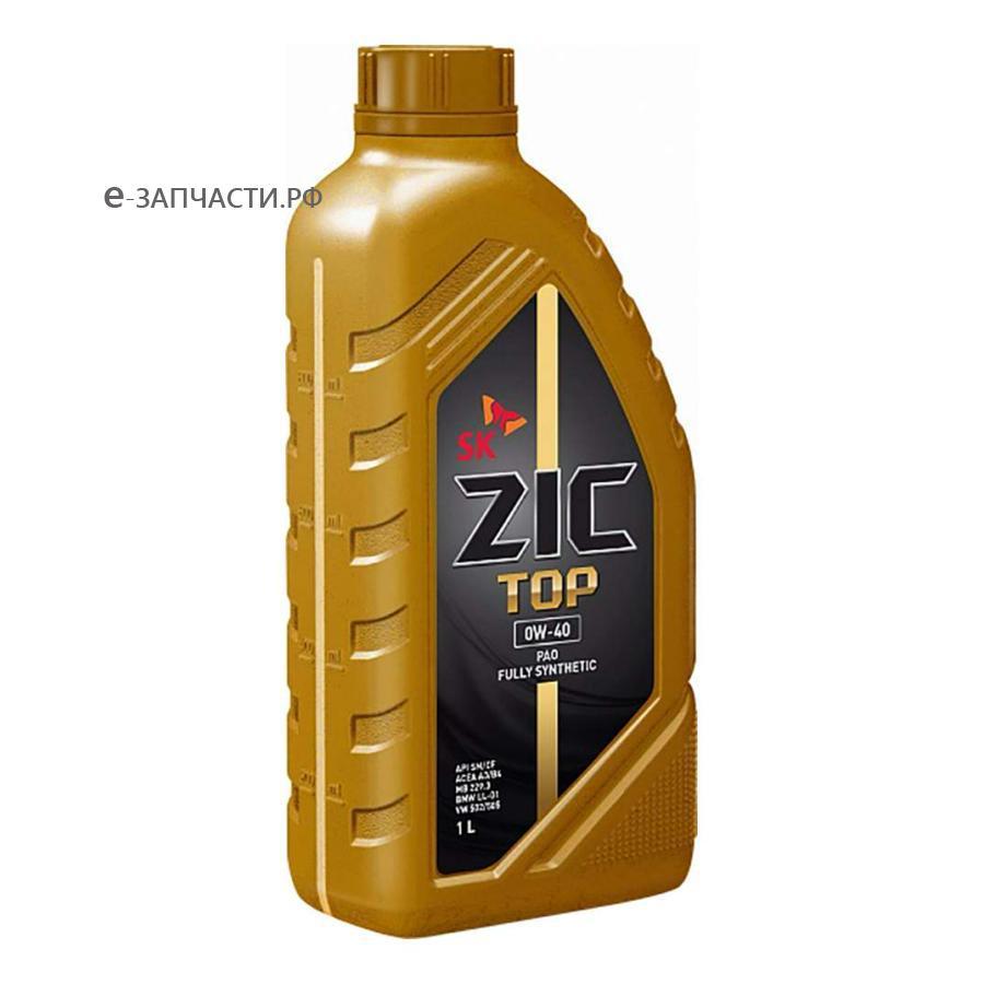 Масло моторное синтетическое Top 0W-40, 1л