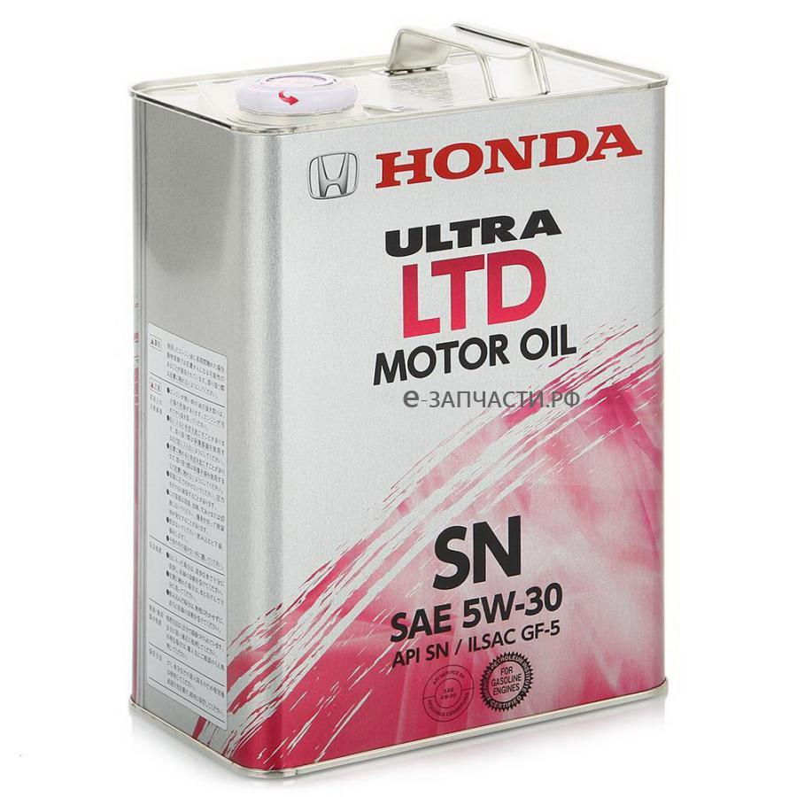 Масло моторное полусинтетическое Ultra LTD-SN 5W-30, 4л