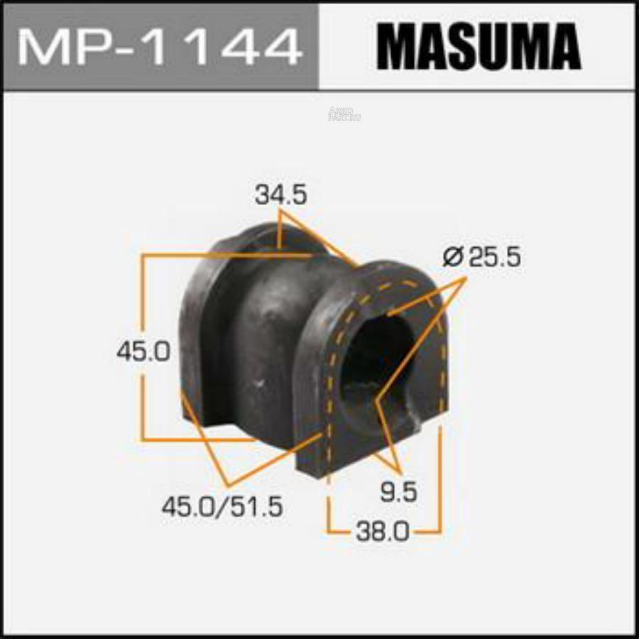 ВТУЛКА СТАБИЛИЗАТОРА MASUMA /FRONT/ HONDA/ ACCORD