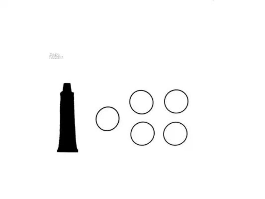 Комплект прокладок, крышка головки цилиндра VICTOR REINZ 157674102