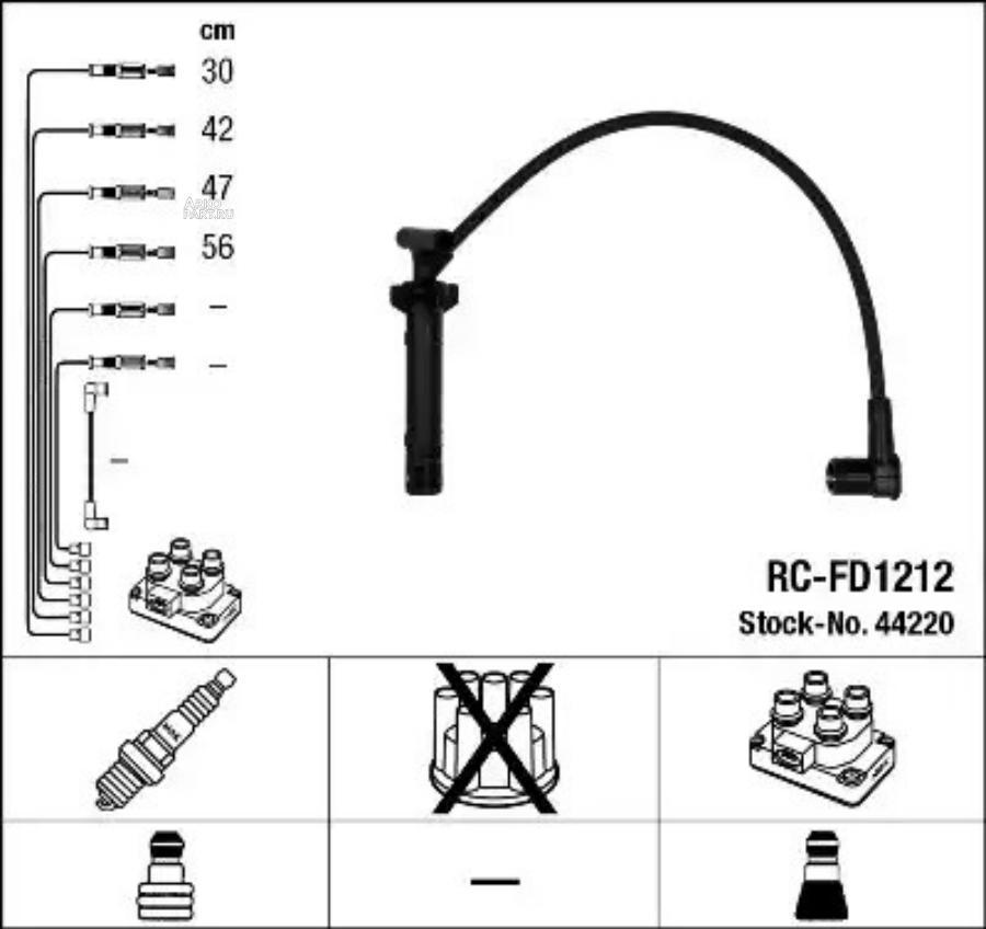 Провода в/в RCFD1212
