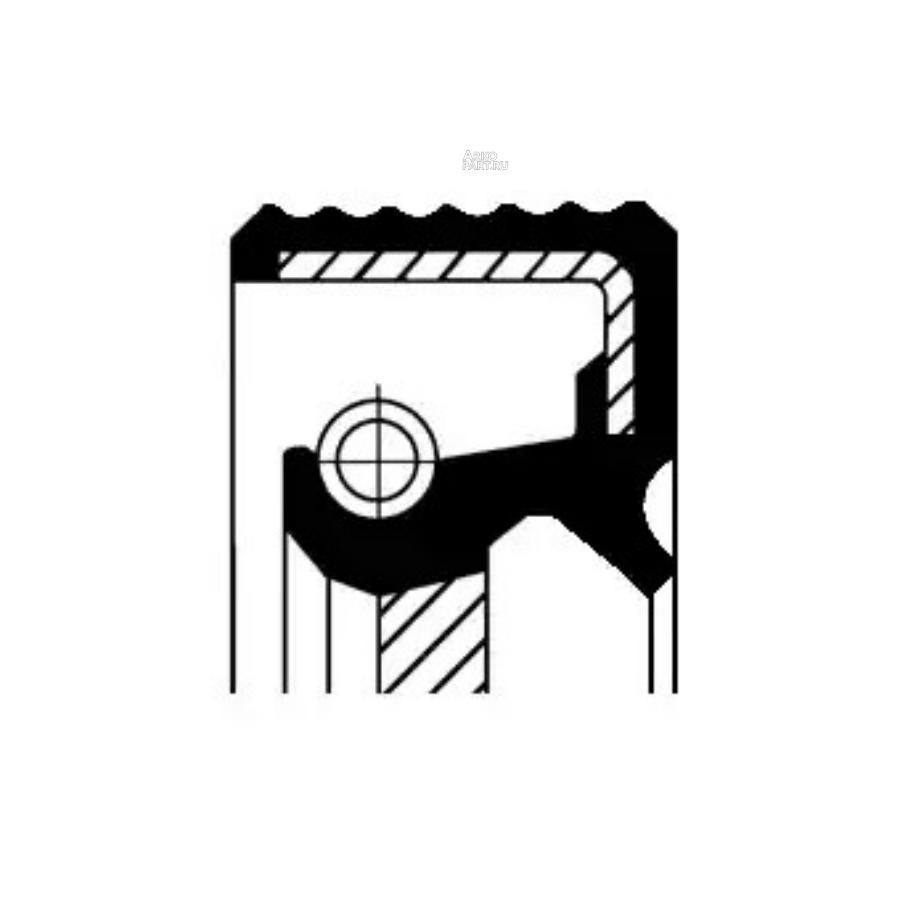 Уплотняющее кольцо вала, автоматическая коробка передач