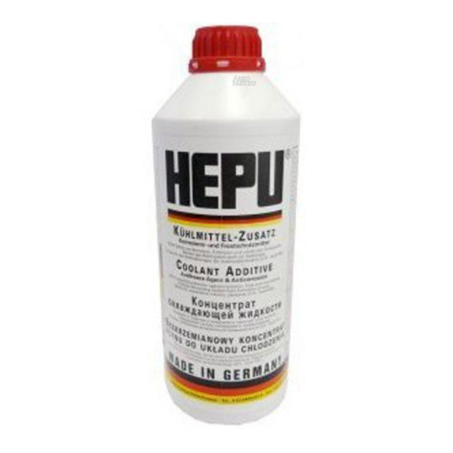P999-G12_антифриз! красный 1.5L концентрат 1:1 -40°C соответст категории G12\ HEPU P999G12