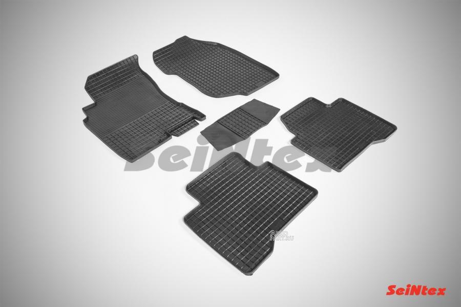 Резиновые коврики Сетка для Nissan X-Trail 2003-2007