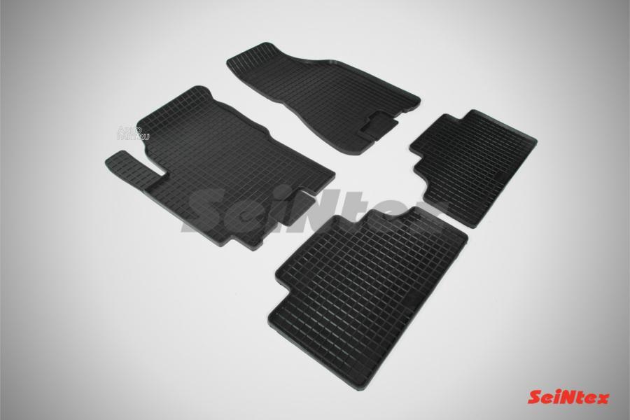 Резиновые коврики Сетка для KIA Sportage II 2004-2010