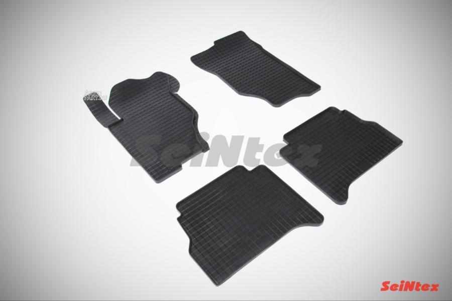 Резиновые коврики Сетка для KIA Sorento 2006-2009
