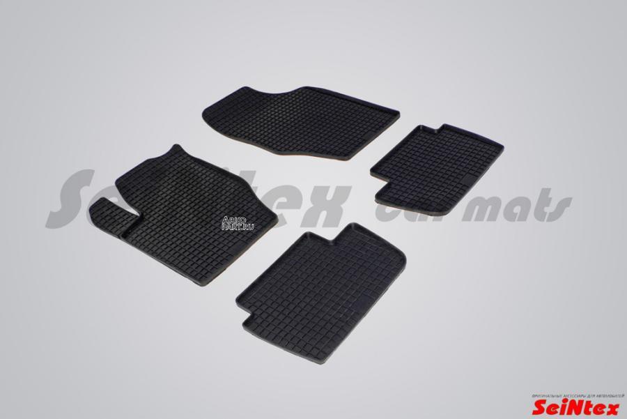 Резиновые коврики Сетка для Citroen C4 II 2012-н.в.