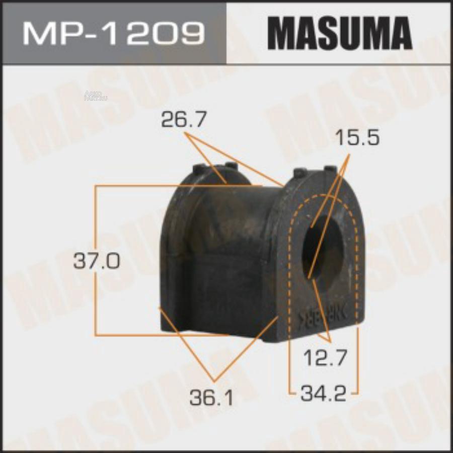 Втулка стабилизатора MASUMA  /rear/ OUTLANDER, ASX / GF6W, GA6W  [уп.2]