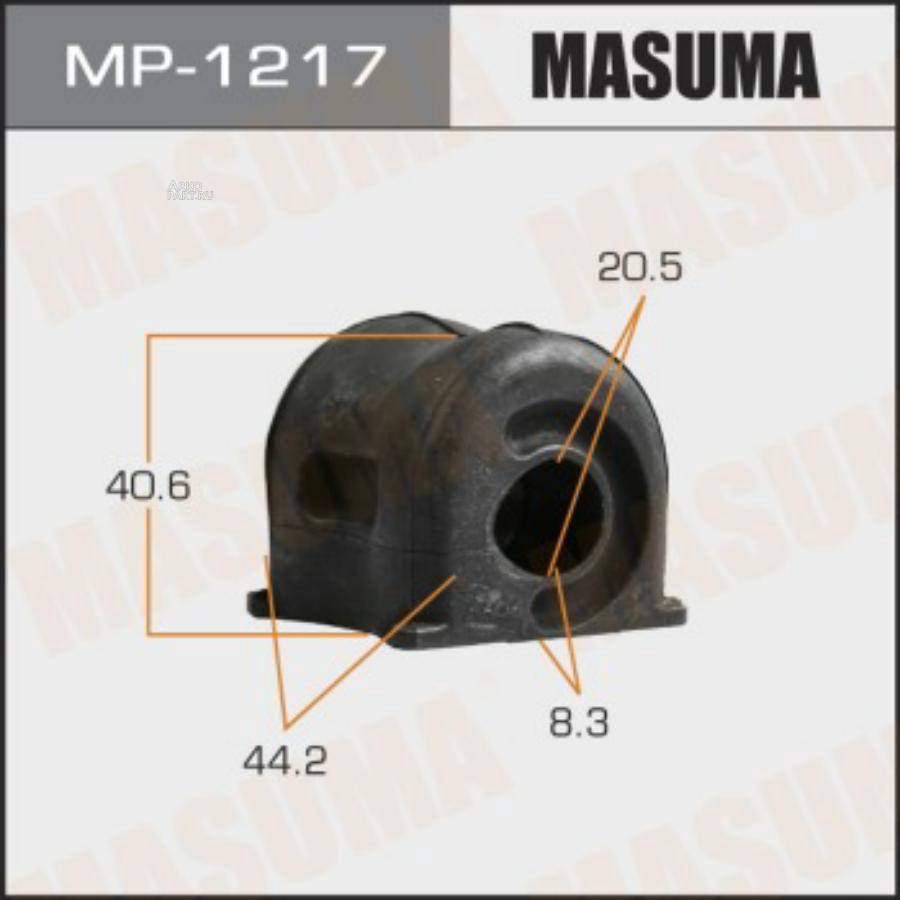 Втулка стабилизатора MASUMA  /front/ CR-V  12-   [уп.2]
