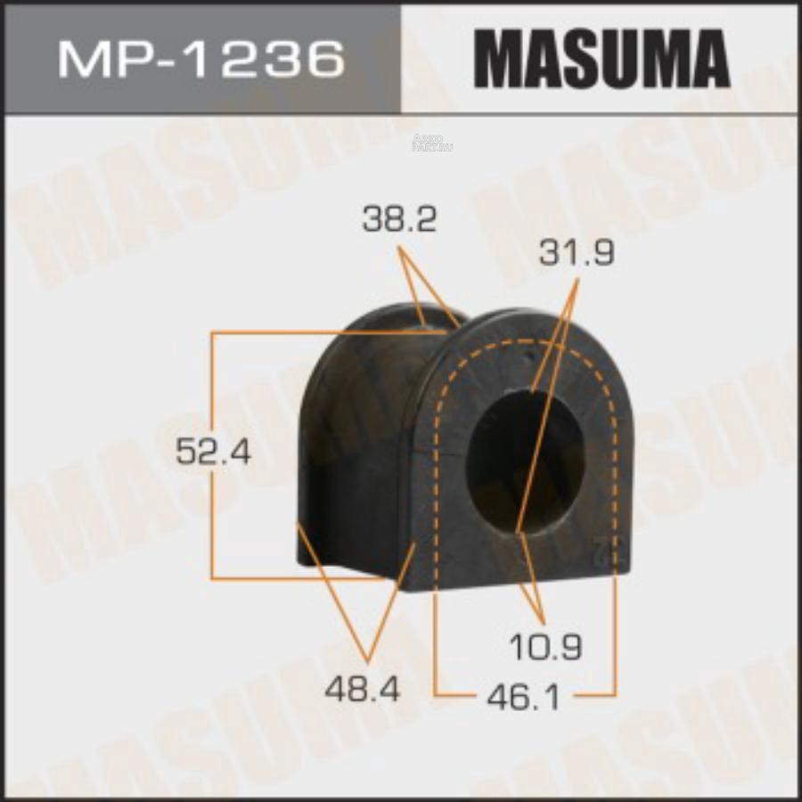 Втулка стабилизатора MASUMA  /front/ HILUX / GUN125L, GUN135L [уп.2]