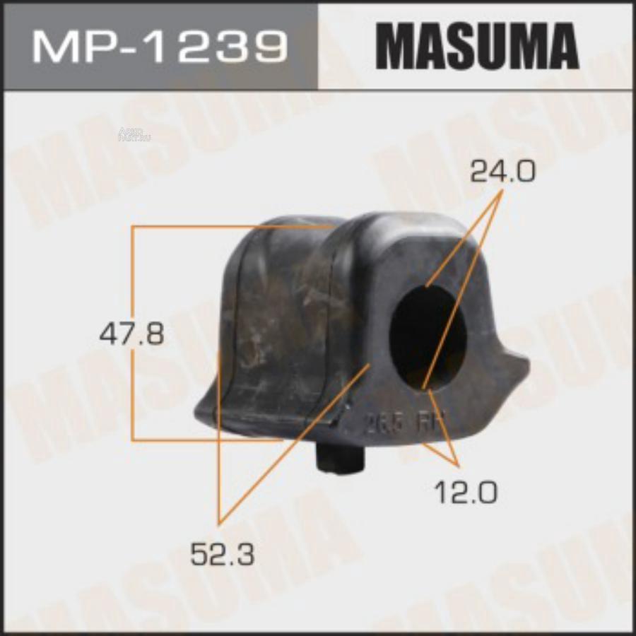 Втулка стабилизатора MASUMA  /front/ NX200, NX200T/ ZGZ15L, AGZ10L    [уп.1]  RH