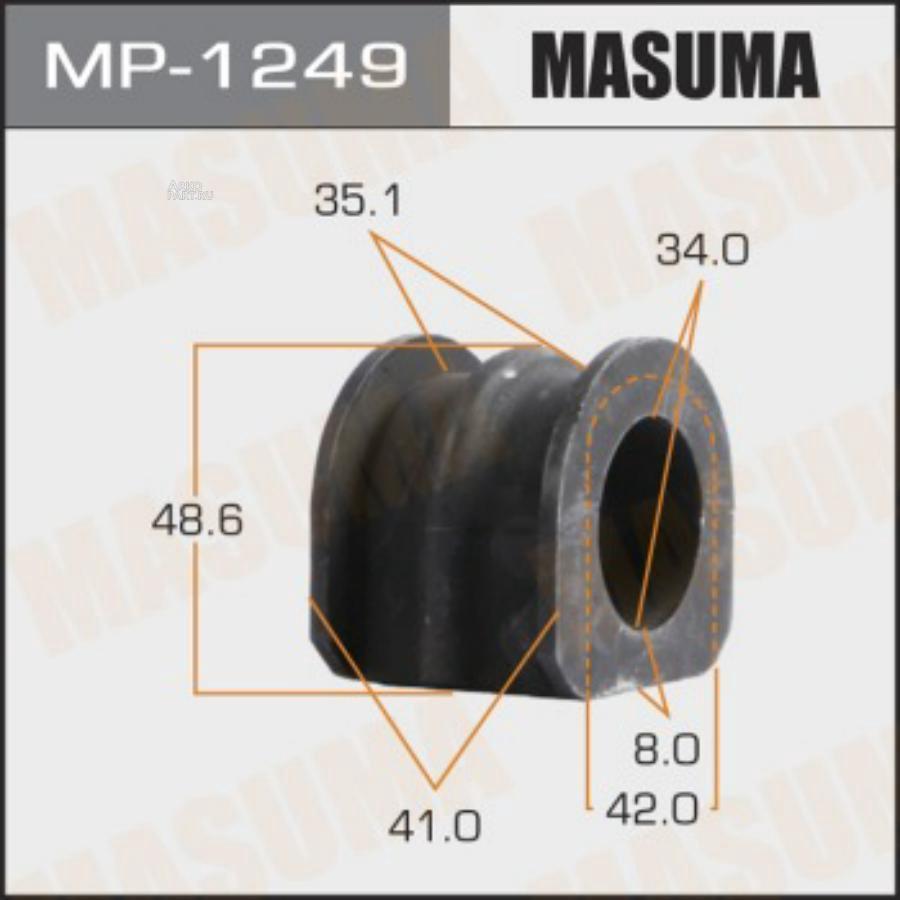 Втулка стабилизатора MASUMA  /front/ FX35, QX50 / S51, J50  [уп.2]