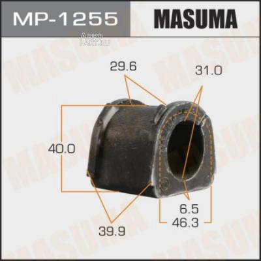 Втулка стабилизатора MASUMA  /front/ MONTERO SPORT, CHALLENGER/ K94W, K99W   [уп.2]