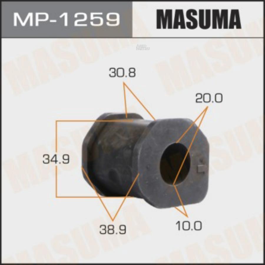 Втулка стабилизатора MASUMA  /front/ PAJERO SPORT, L200/ K94W, K74T   [уп.2]