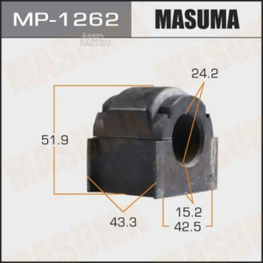 Втулка стабилизатора MASUMA  /front/ CX-7 / ER#  11-   [уп.2]
