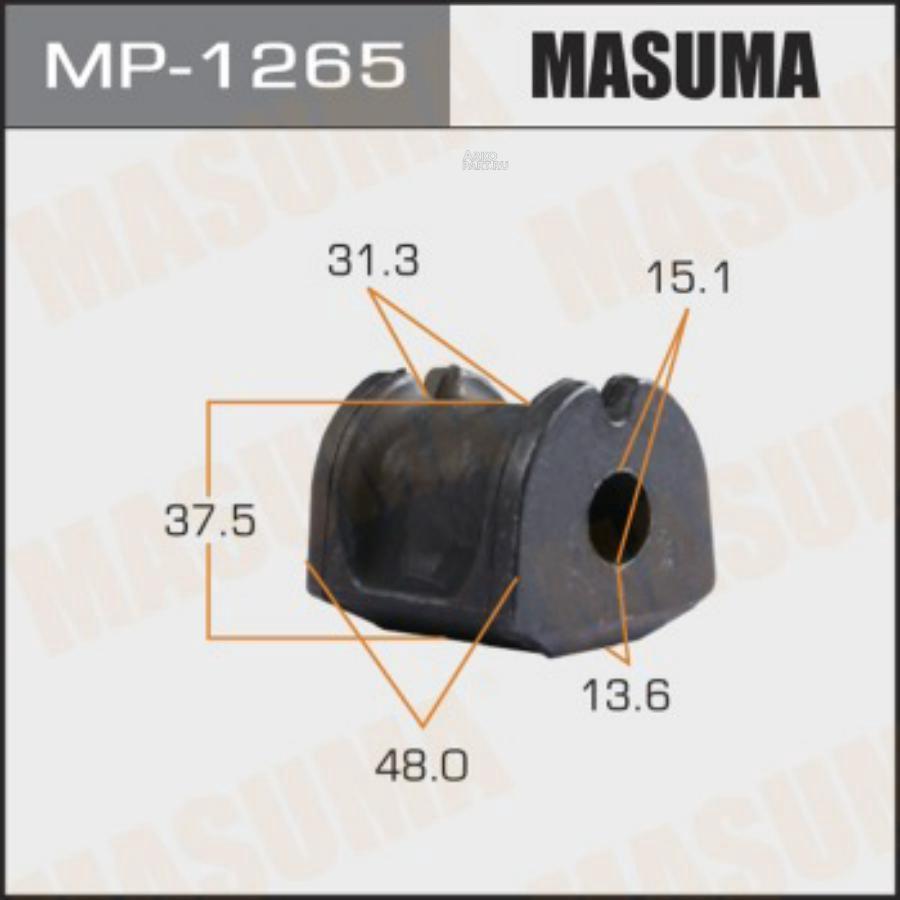 Втулка стабилизатора MASUMA  /rear/ FORESTER, OUTBACK / SH5, B15  [уп.2]