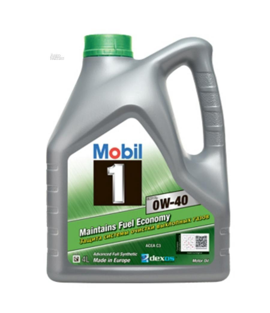 Моторное масло Mobil 1 ESP X3 0W-40 — 4л