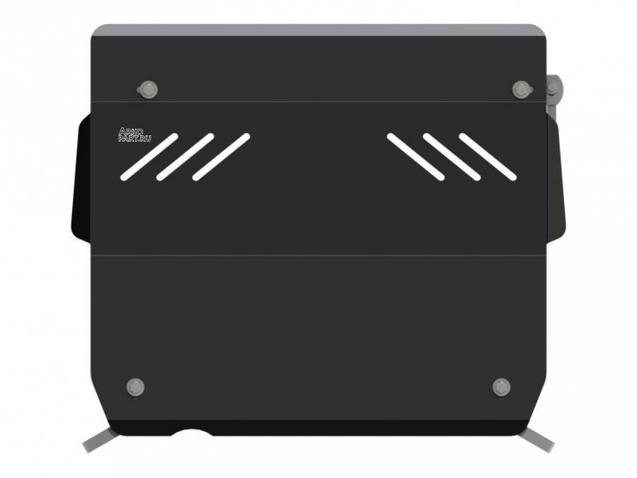 Защита картера и КПП для NISSAN Micra   , 2 010-, K13, сталь 2,0 мм SHERIFF 152643