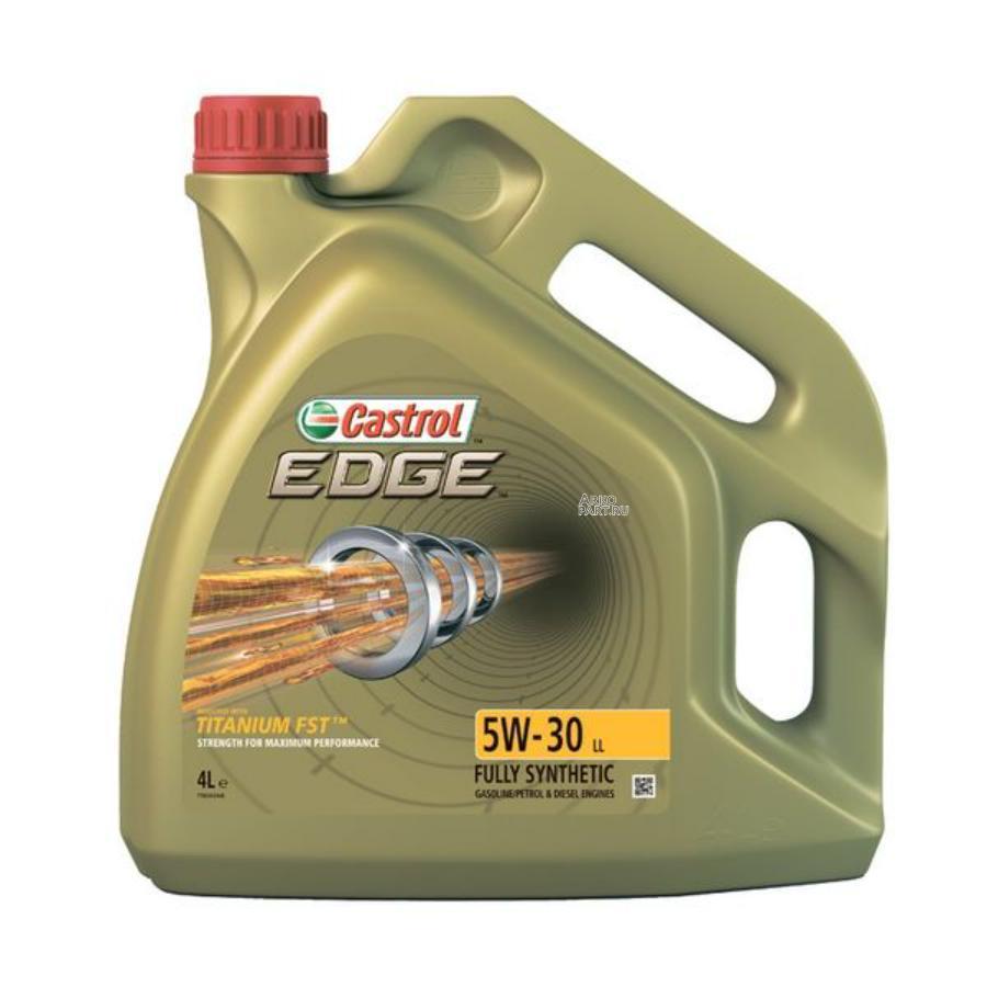 Моторное масло Castrol EDGE 5W-30 LL синтетическое, 4 л
