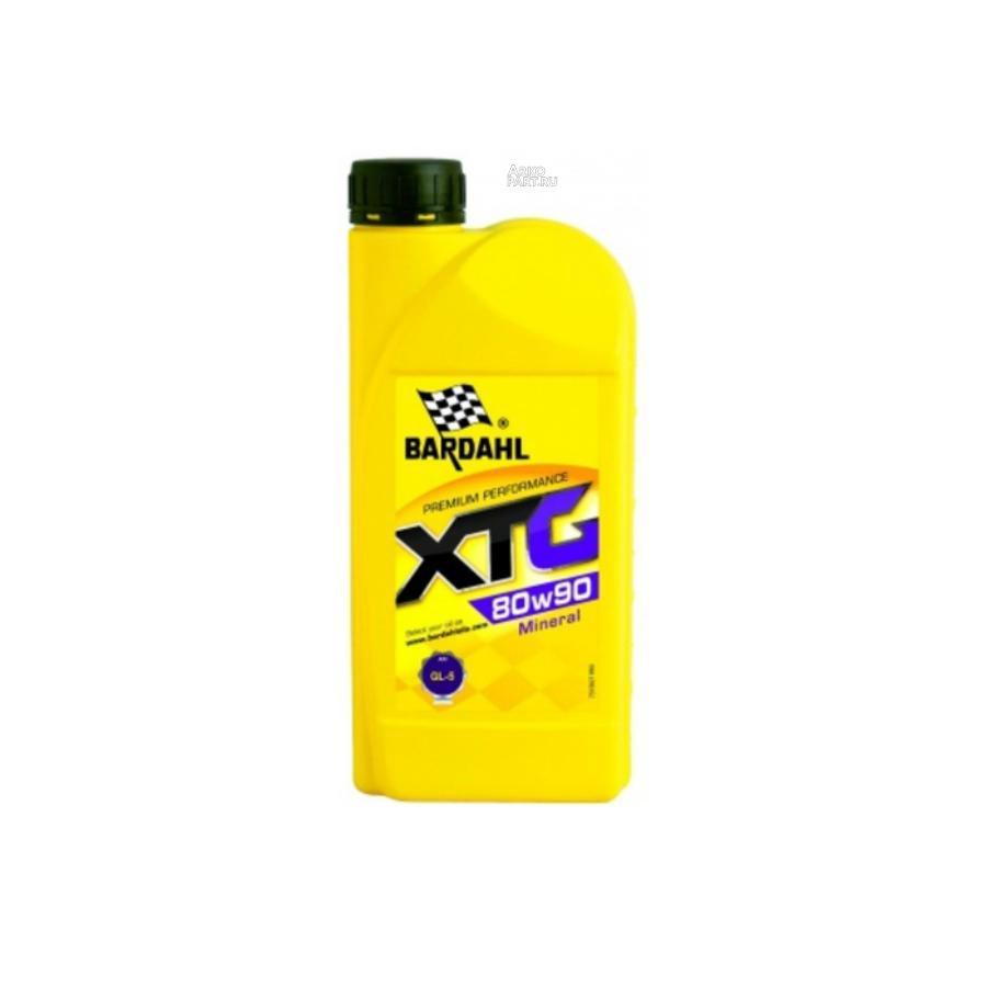 80W90 GL5 XTG 1L (мин. трансмисионное масло)
