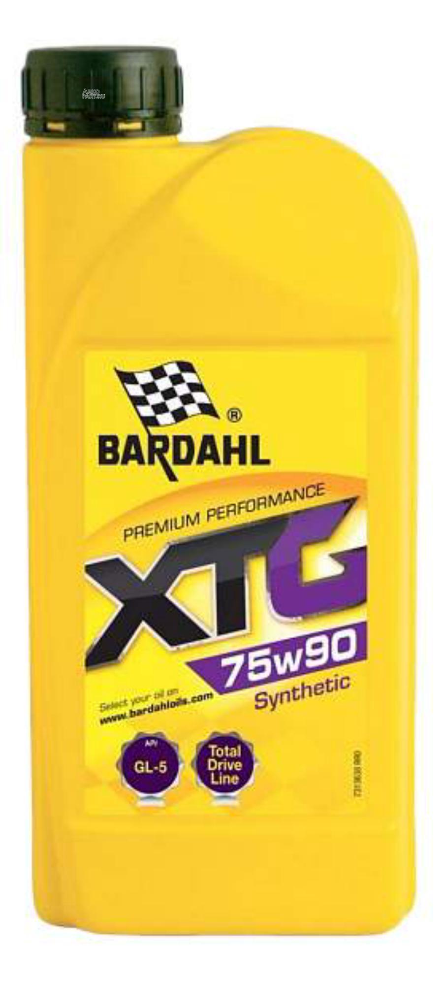 75W90 GL5 XTG 1L (синт. трансмисионное масло)
