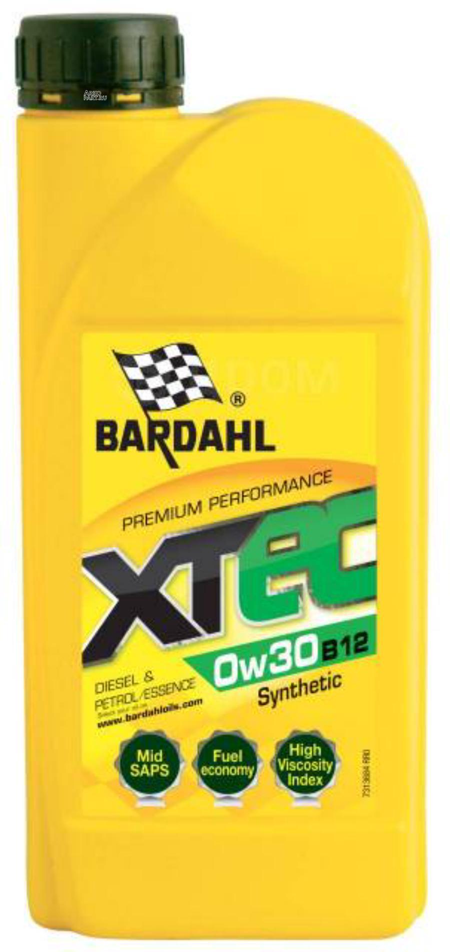 XTEC 0W30 B12 ACEA C2 (12) - BMW LL-12 FE 1L (специальное синт. моторное масло)