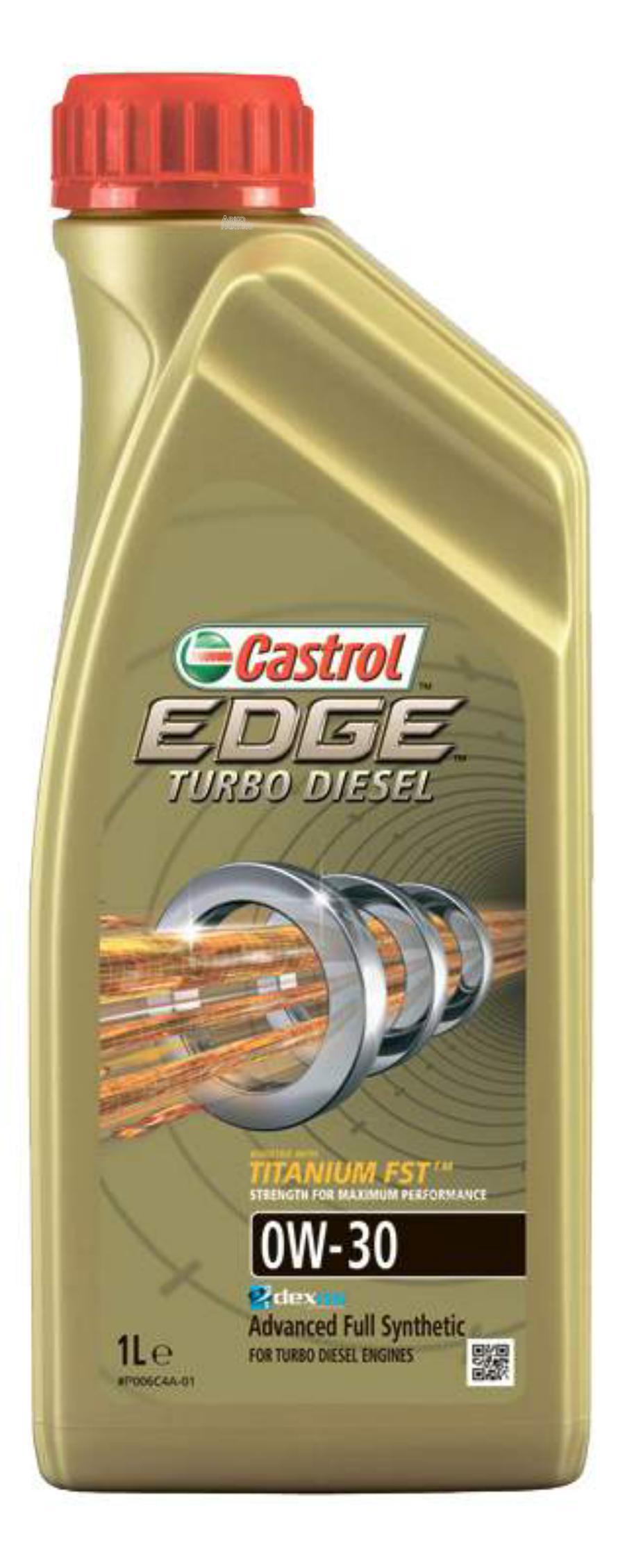 Масло моторное синтетическое EDGE Turbo Diesel Titanium FST 0W-30, 1л