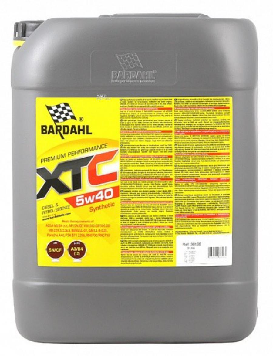5W40 XTC SN/CF 20L (синт. моторное масло)