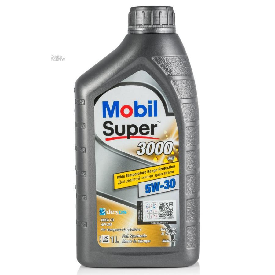 Масло моторное синтетическое MOBIL SUPER 3000 XE 5W-30 1л 152574 MOBIL 152574