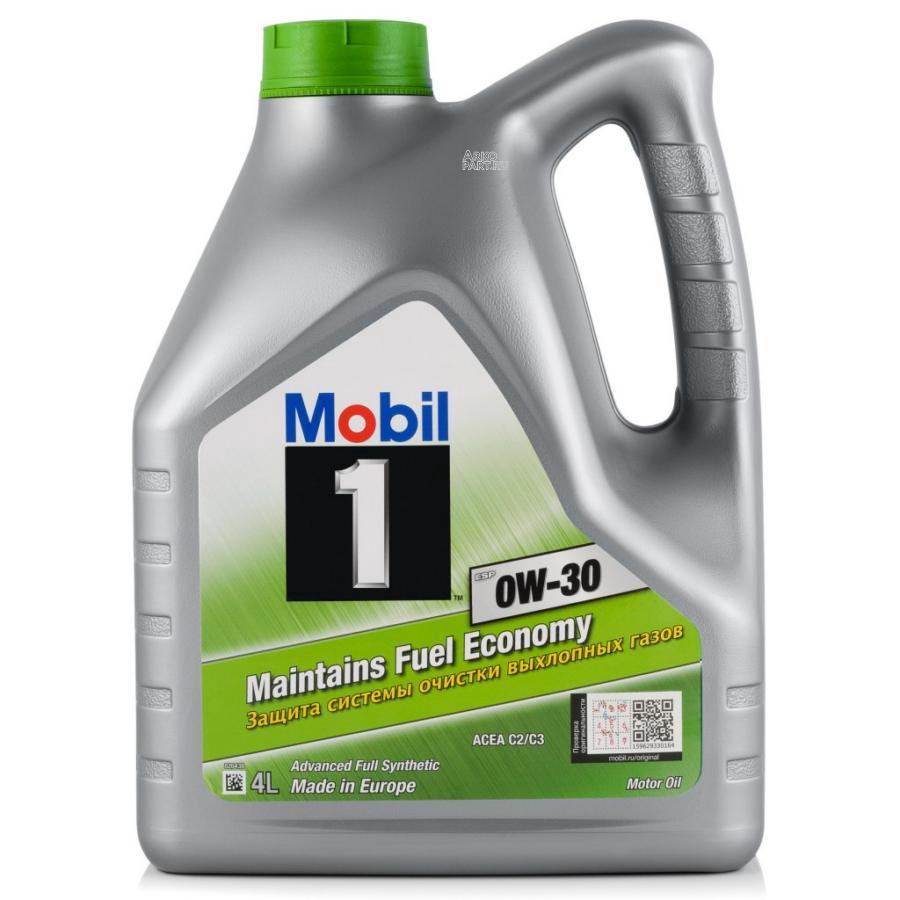 Mobil 1 ESP 0W30 (4L)_масло моторное!синт.\ACEA C2/C3, VW 504 00,VW 507 00,MB 229.31, 229.51, 229.52 MOBIL 153754