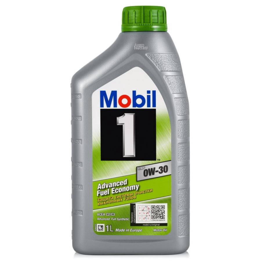 Mobil 1 ESP 0W30 (1L)_масло моторное!синт.\ACEA C2/C3, VW 504 00,VW 507 00,MB 229.31, 229.51, 229.52 MOBIL 153753