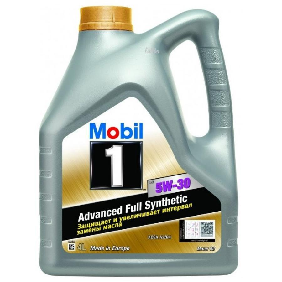 Mobil 1 FS 5W30 (4L)_масло моторное! синт.\ API SN, ACEA A3/B3/B4 VW 502 00,VW 505 00,MB 229.3/229.5