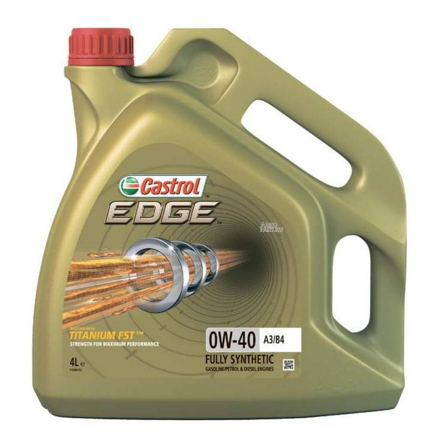 Масло моторное синтетическое EDGE A3/B4 TITANIUM FST 0W-40, 4л