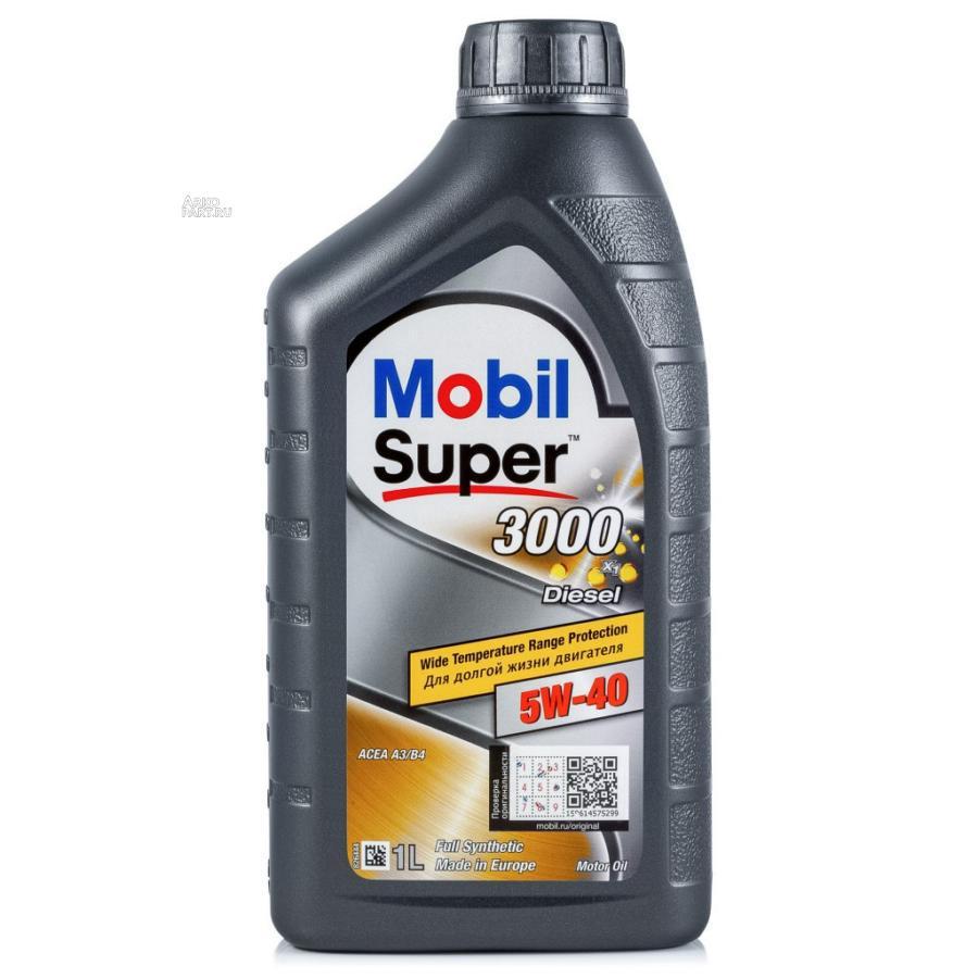 MOBIL SUP3000 X1DSL 5W40 12X1L