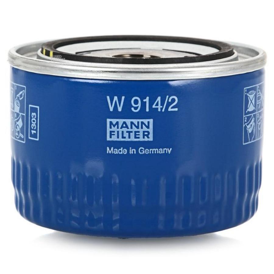 Фильтр масляный MANN W9142 LADA в коробке /ZAZ Chance Sens /LADA PRIORA/ 110/111/112 / KALINA/ NIVA /SAMARA MANN-FILTER W9142