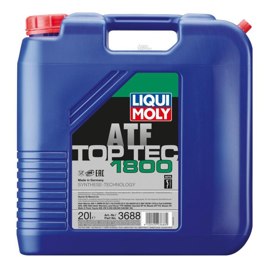 НС-синтетическое трансмиссионное масло для АКПП Top Tec ATF 1800 20л