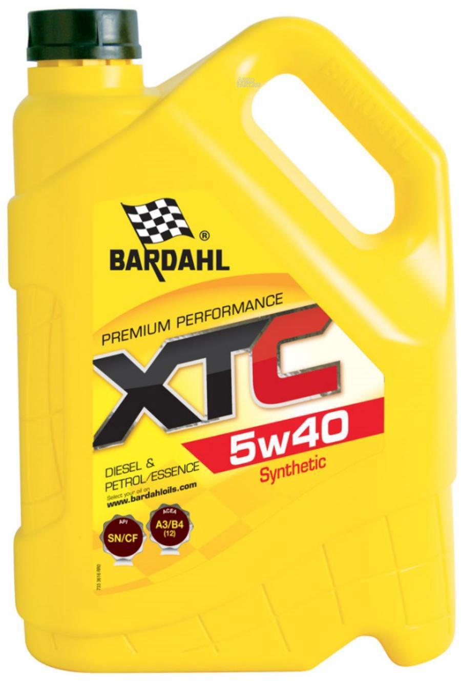5W40 XTC SN/CF 5L (синт. моторное масло)