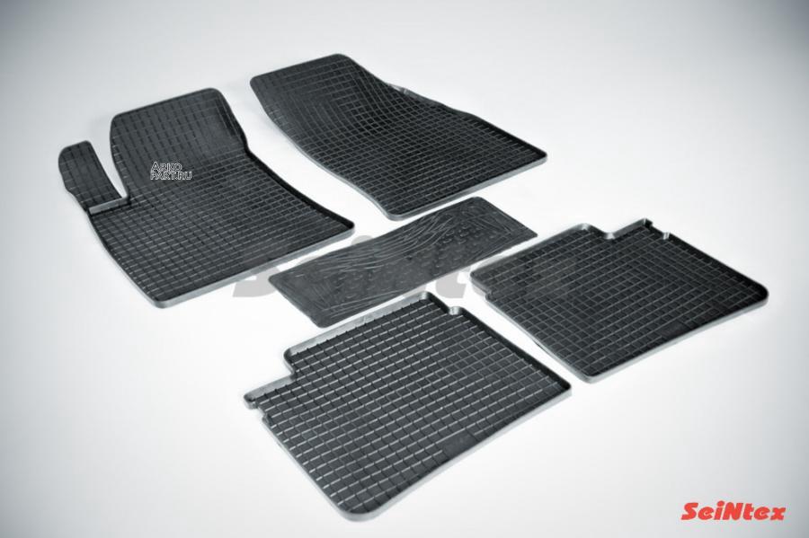 Резиновые коврики Сетка для Hyundai Sonata V 2004-2010