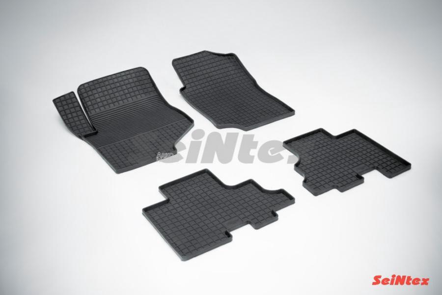 Резиновые коврики Сетка для Chevrolet Trail Blazer (GMT800) 2001-2008
