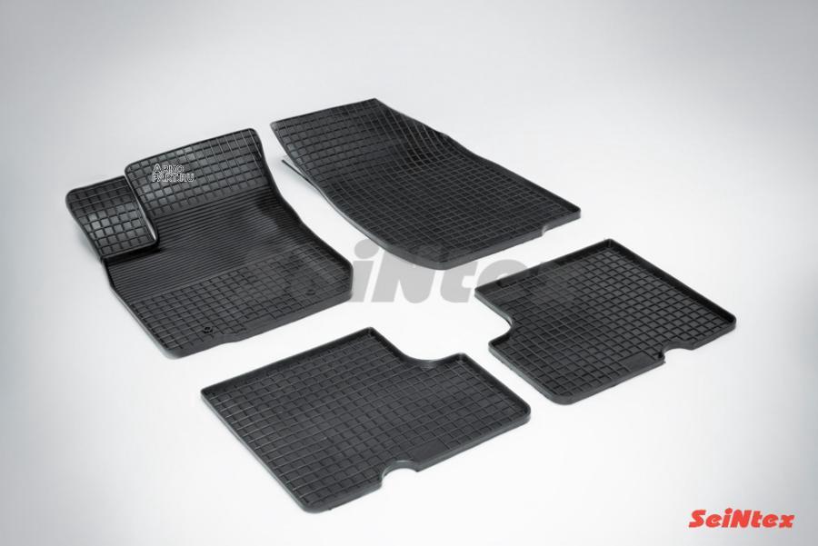 Резиновые коврики Сетка для Renault Logan I 2004-2014