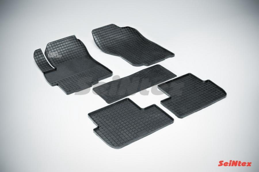 Резиновые коврики Сетка для Mitsubishi Lancer X 2007-н.в.