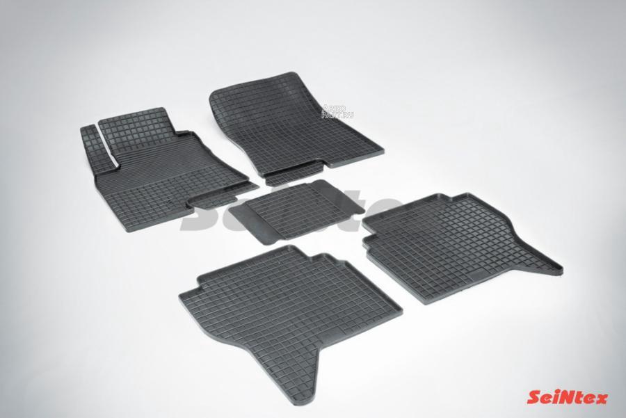 Резиновые коврики Сетка для Mitsubishi Pajero IV 2006-н.в.
