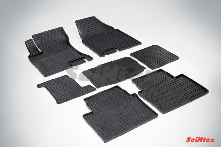 Резиновые коврики Сетка для Nissan Qashqai+2 2008-2013